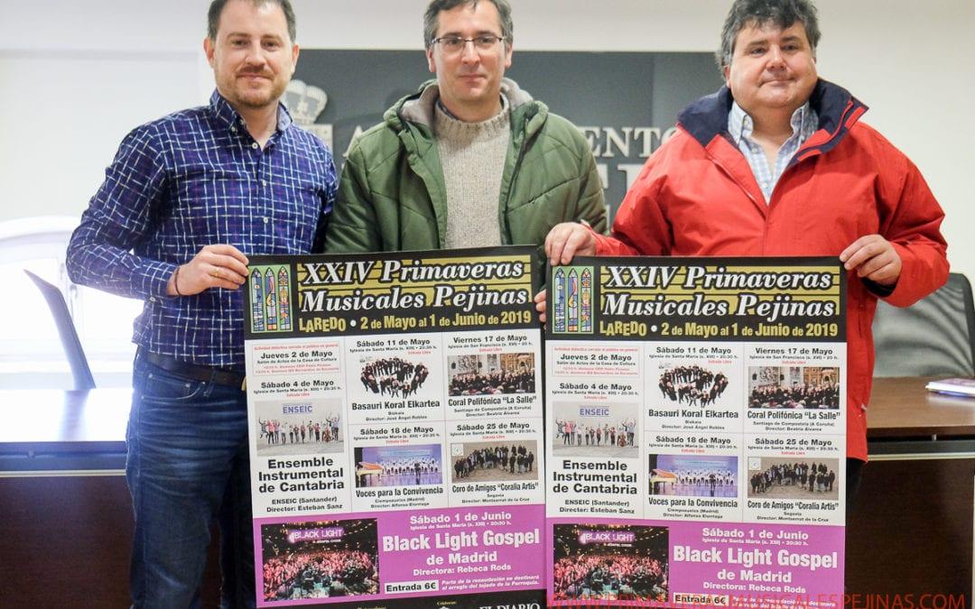 SE PRESENTAN EN LAREDO LAS XXIV PRIMAVERAS MUSICALES PEJINAS